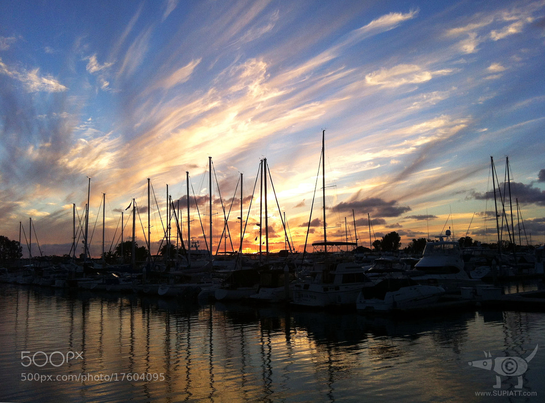 Photograph Sun-Set_Sail by su piatt on 500px