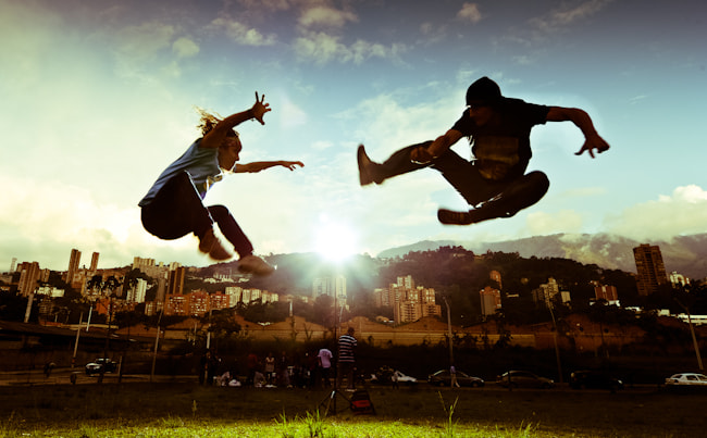 Photograph Medellin Parkour by michael thompson on 500px