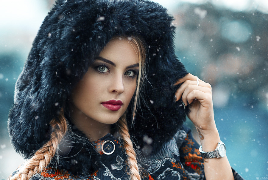 The girl from Moscow by Alessandro Di Cicco on 500px.com