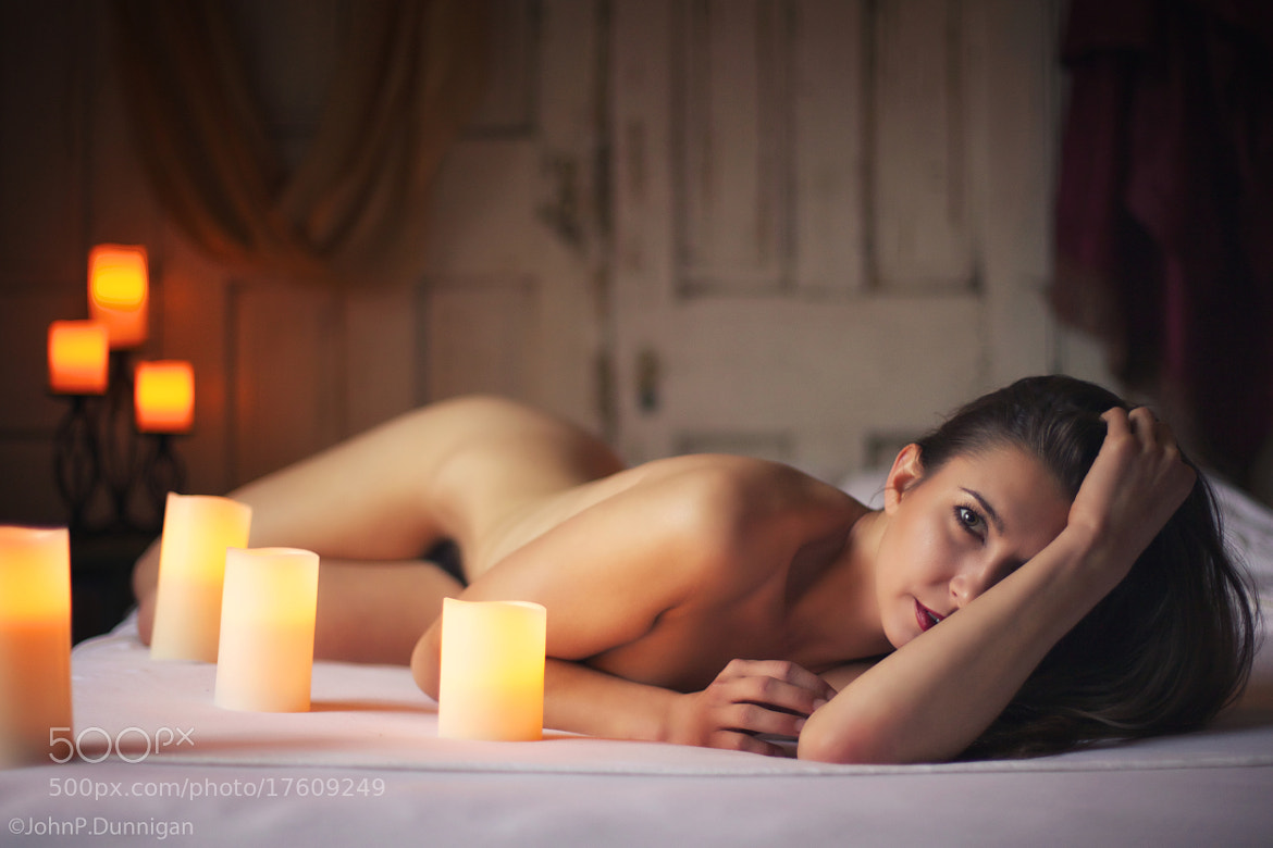 Photograph melissa - candles by John Dunnigan on 500px