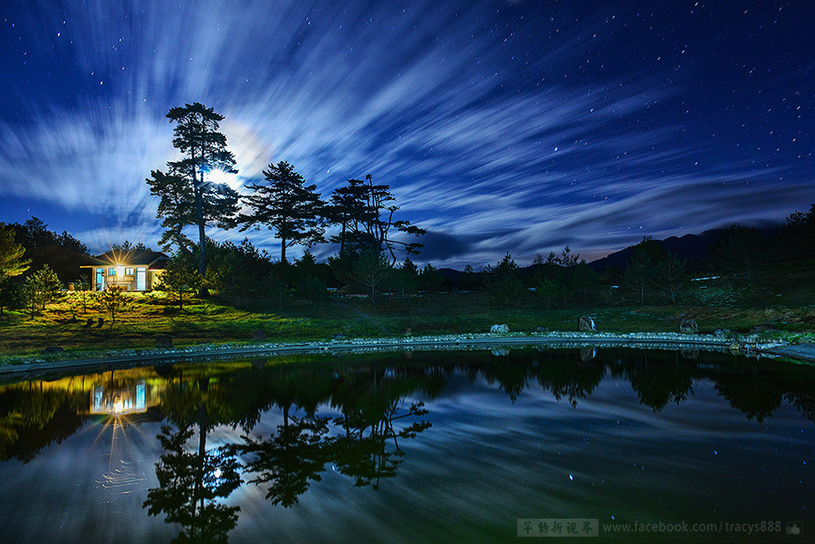 Photograph camping with the star.. by 芊芊 劉 on 500px
