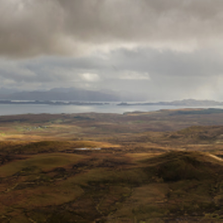 Trotternish panorama, Nikon D800, AF-S Zoom-Nikkor 24-85mm f/3.5-4.5G IF-ED