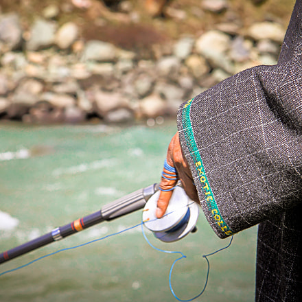Trout fishing in Kashmir, Canon EOS REBEL T3, Canon EF-S 17-85mm f/4-5.6 IS USM