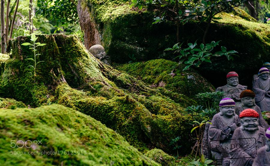 Hidden Jizo - Miyajima