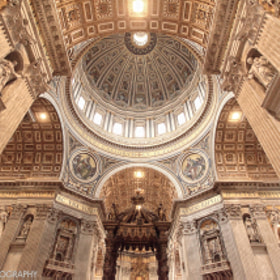 St Peter Basilica, Vatican City by Ronnie Renaldi (RonnieRenaldi)) on 500px.com