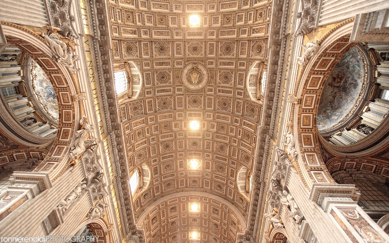Photograph St Peter Basilica, Vatican City by Ronnie Renaldi on 500px