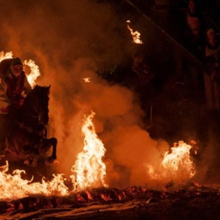 The burning knight