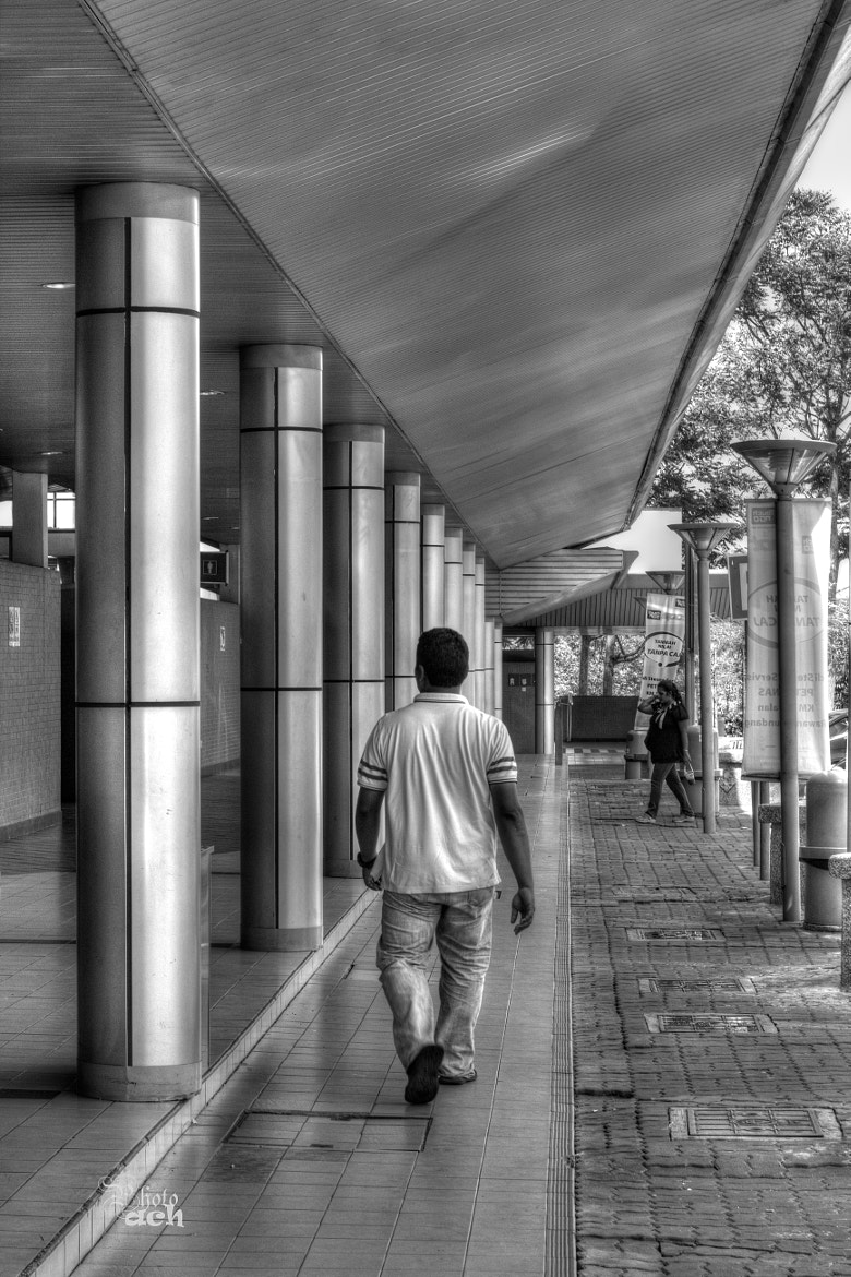Photograph Walking on the street.. by Anuar Che Hussin on 500px