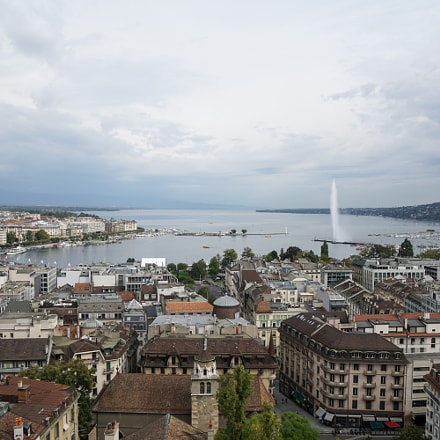 View of Geneva from, Sony ILCE-6000, Sony E 16-70mm F4 ZA OSS