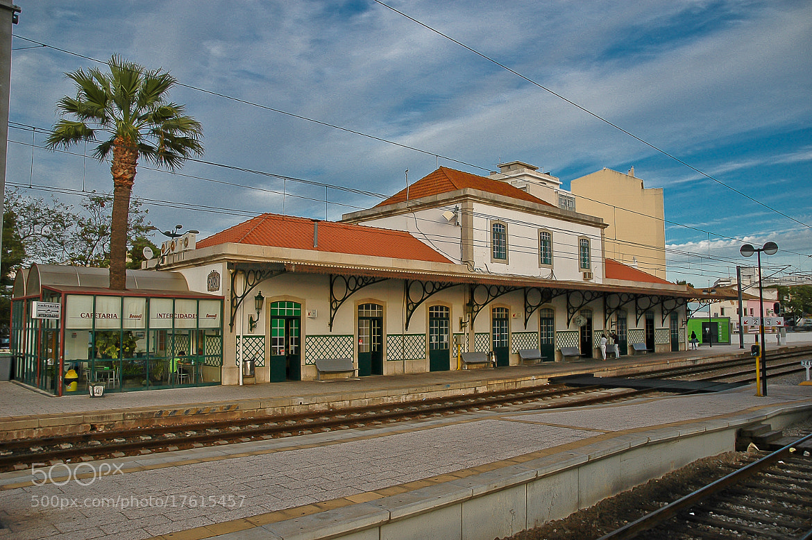 Photograph Train station - Faro by José Covas on 500px