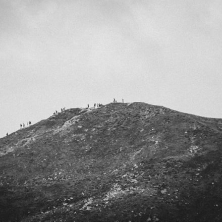 Wanderers, Canon EOS 700D, Canon EF 70-300mm f/4-5.6 IS USM