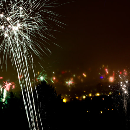happy new year!, Canon EOS 550D, Canon EF-S 18-55mm f/3.5-5.6 IS
