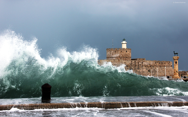 Photograph A small tsunami at Rhodes  island  !!!! by Dimitris Koskinas on 500px