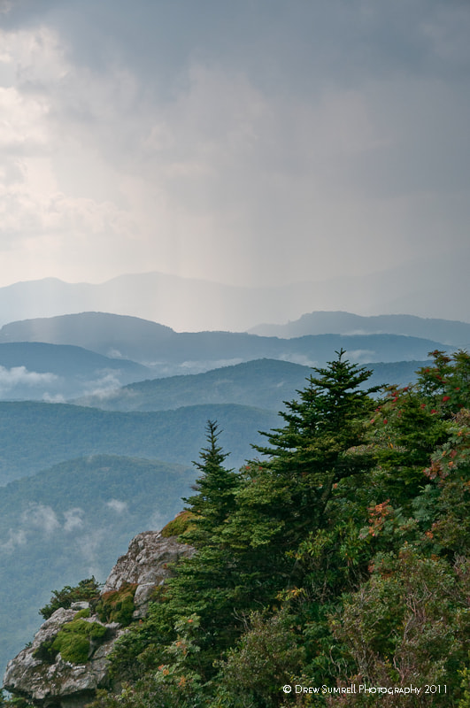 Photograph Blue Ridge Summer Storm by Drew Sumrell on 500px