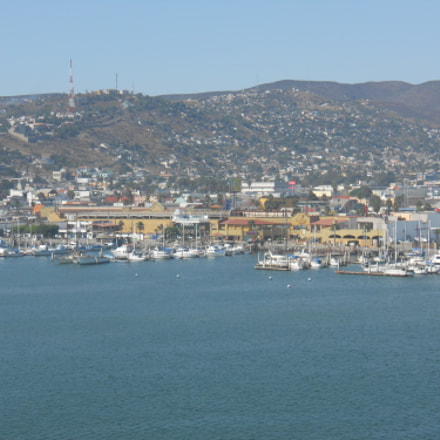 View of Ensenada Mexico, Nikon COOLPIX S570