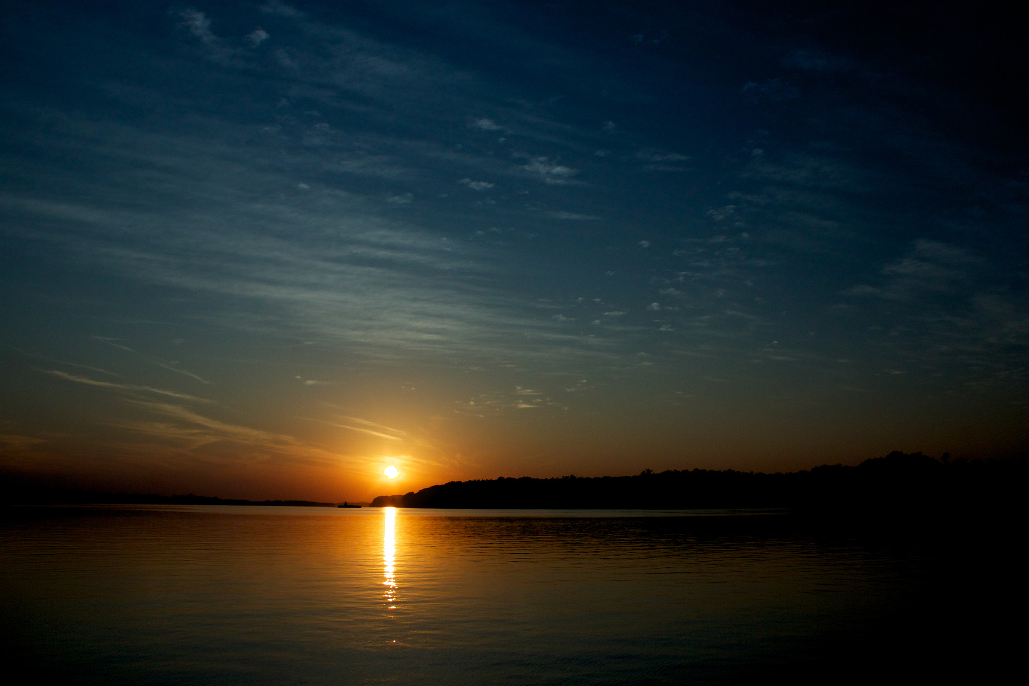 Photograph Ohio River Sunset by Chris Taylor on 500px
