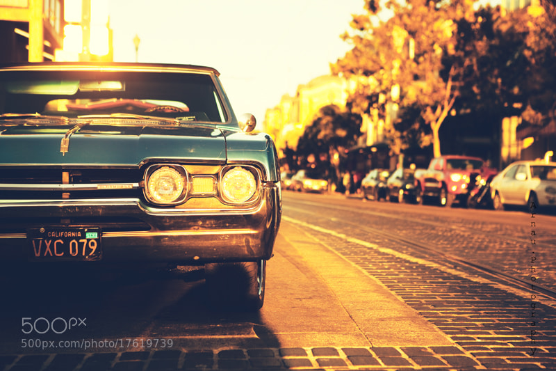 Photograph Old car on Pier 39 by Arnau Dubois on 500px