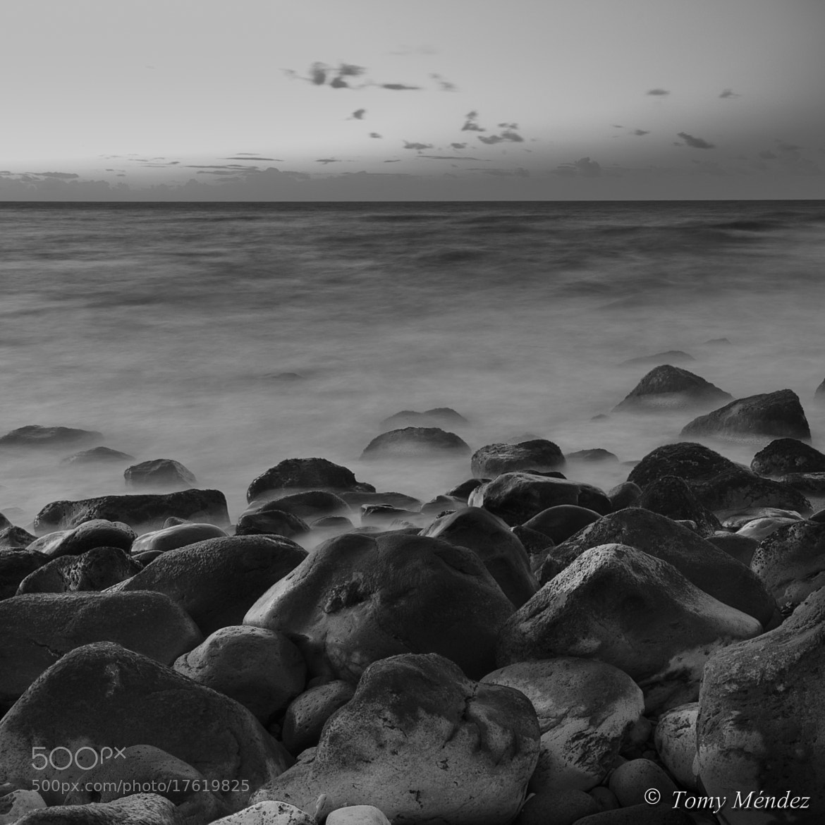 Photograph EL MAR EN BLANCO Y NEGRO 5 by Tomy Méndez on 500px