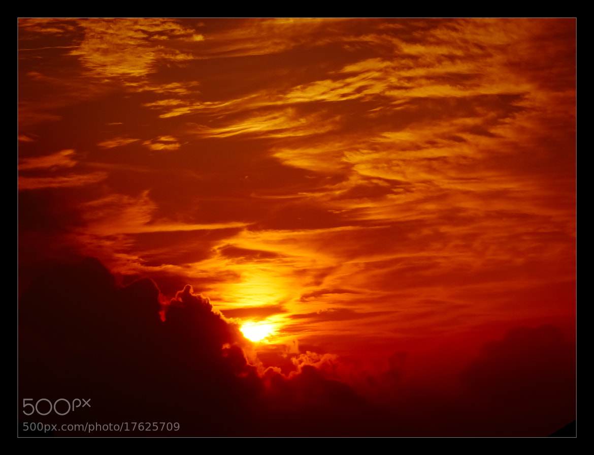Photograph Cloudy fire by Eric Vermeil on 500px