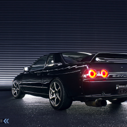 Nissan Skyline R32, Canon EOS KISS X4, Canon EF-S 18-55mm f/3.5-5.6 IS