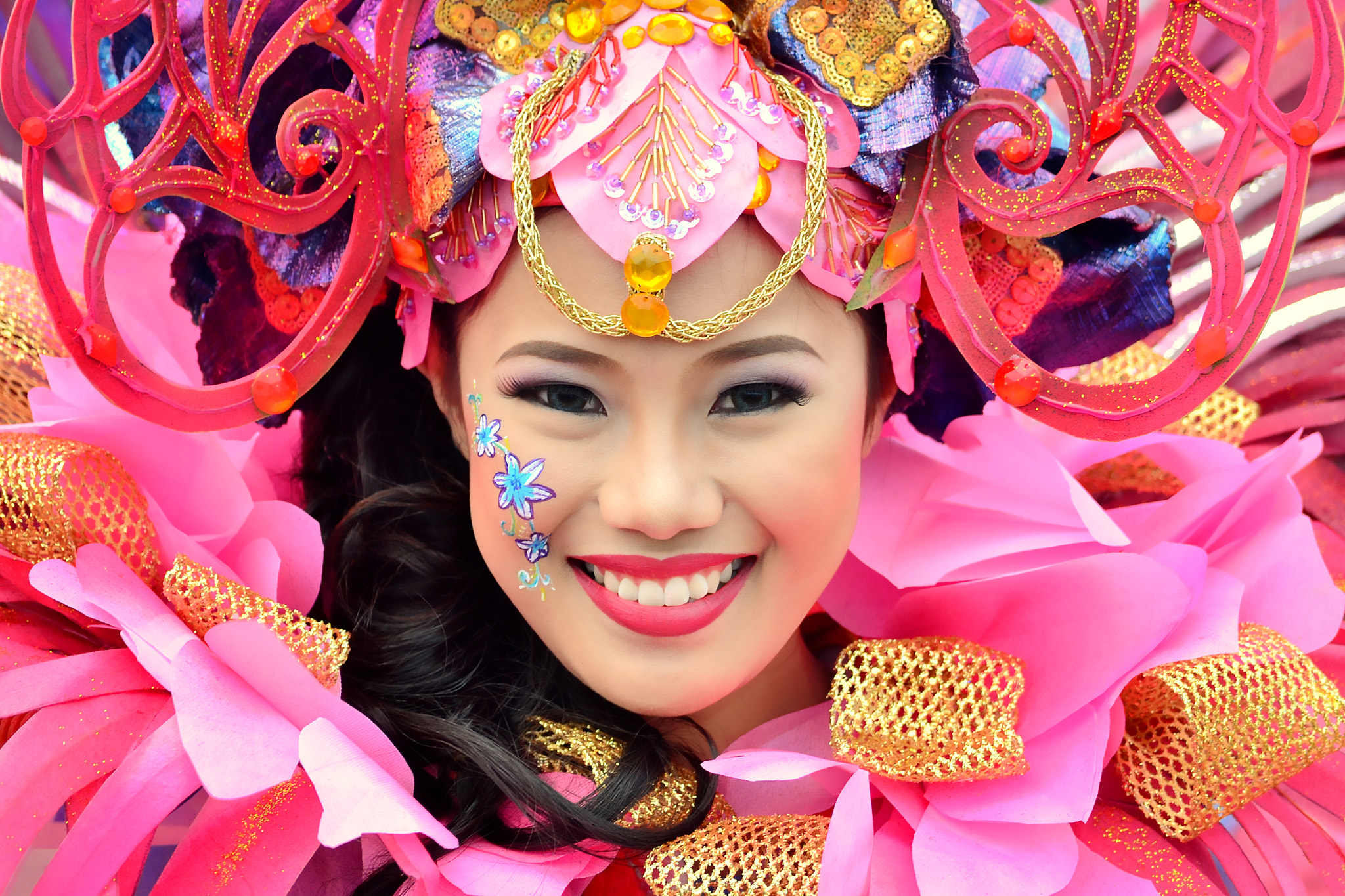 Photograph Pintaflores Festival 2012 Beauty by Wilfredo Lumagbas Jr. on 500px
