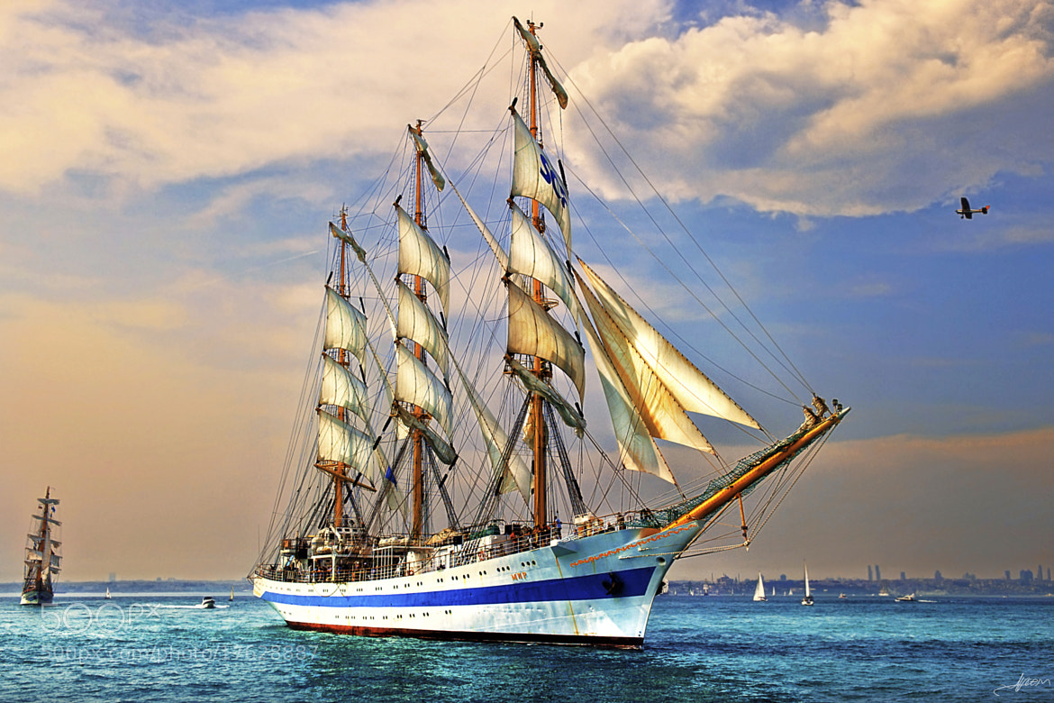 Photograph Tall Ships in Istanbul by Alp Cem on 500px