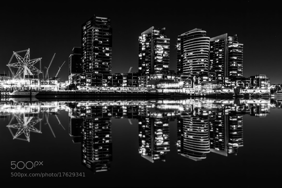 Photograph Melbourne by night by Ashley Poyyayil on 500px