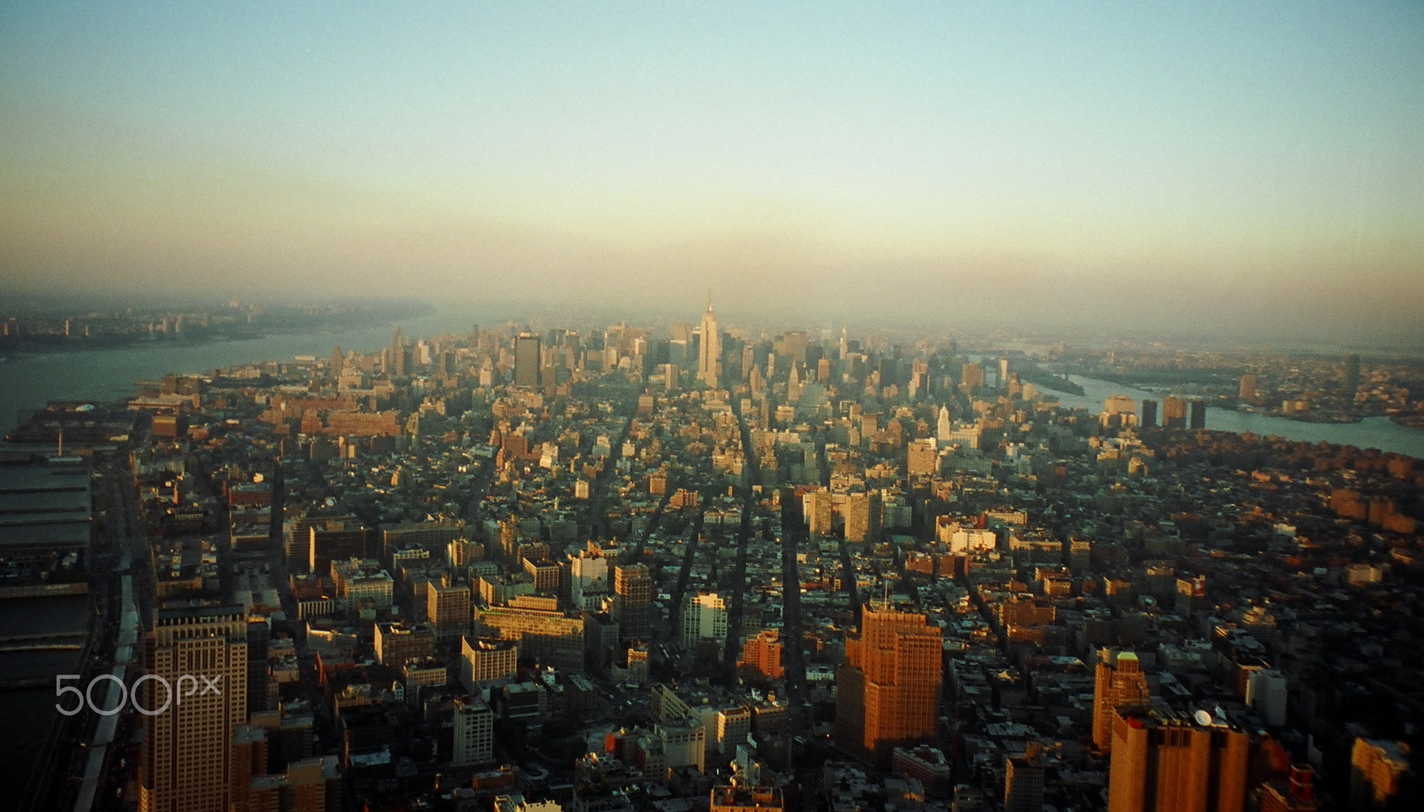 Before 9/11- view from World Trade Center