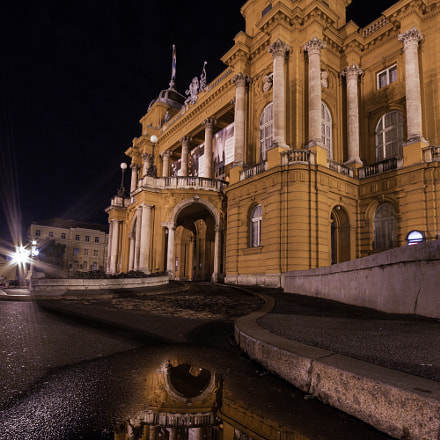 Croatian National Theatre at, Canon EOS 70D, Sigma 10-20mm f/4-5.6