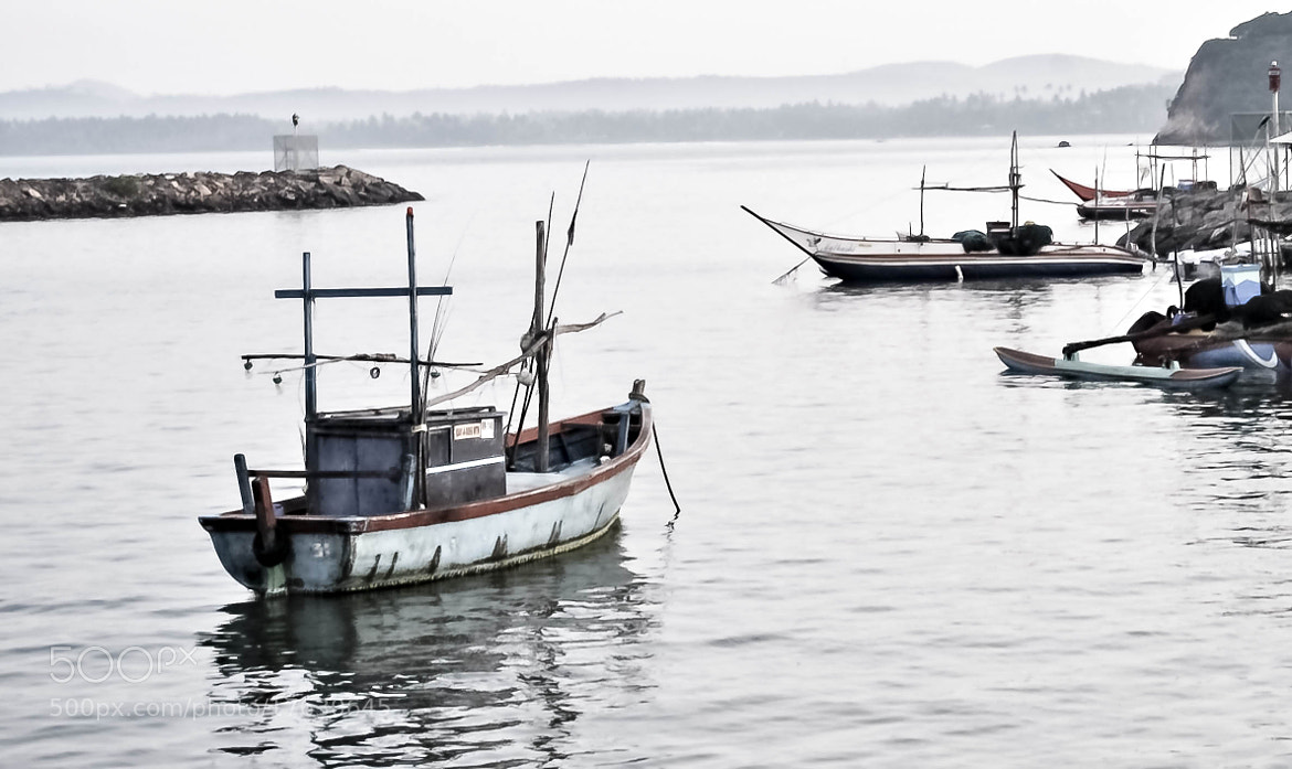 Photograph Fishing Boats - Sri Lanka by julian john on 500px