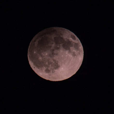 Full Moon, Canon EOS 1100D, Canon EF 75-300mm f/4-5.6 IS USM
