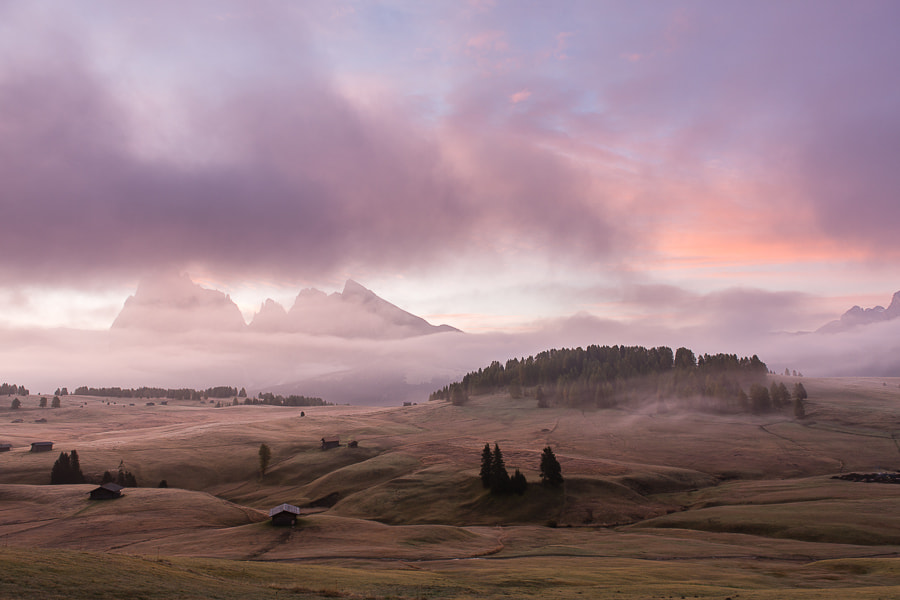 """<a href=""""http://www.hanskrusephotography.com/Workshops/Dolomites-October-7-11-2013/24503434_Pqw9qb#!i=2200963563&k=4gRQGBK&lb=1&s=A"""">See a larger version here</a>  This photo was taken during a photo workshop that I led in the Dolomites October 2012."""