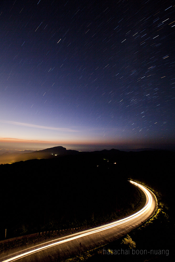 Photograph Star And Trail by Jungle Man on 500px