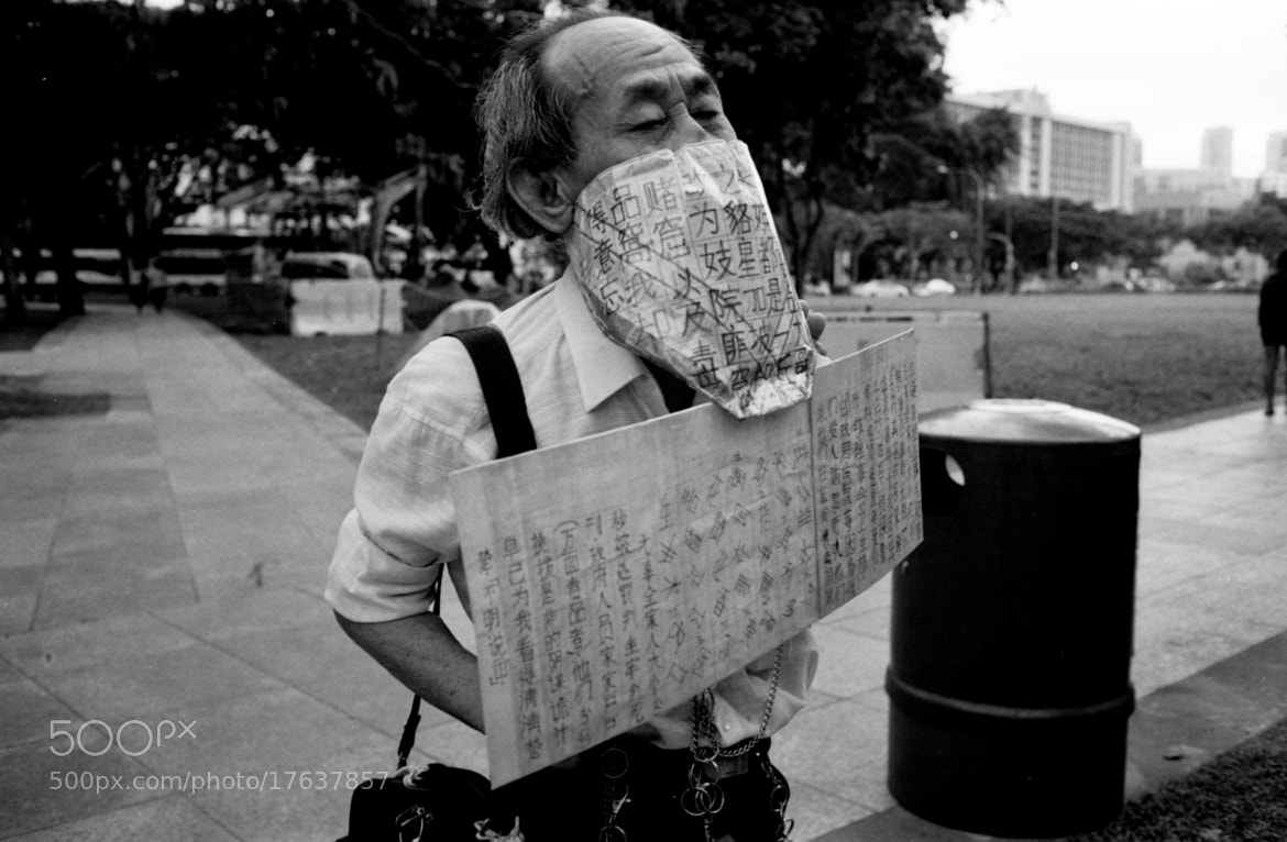 Photograph Silent Protest by Gary  Wang on 500px