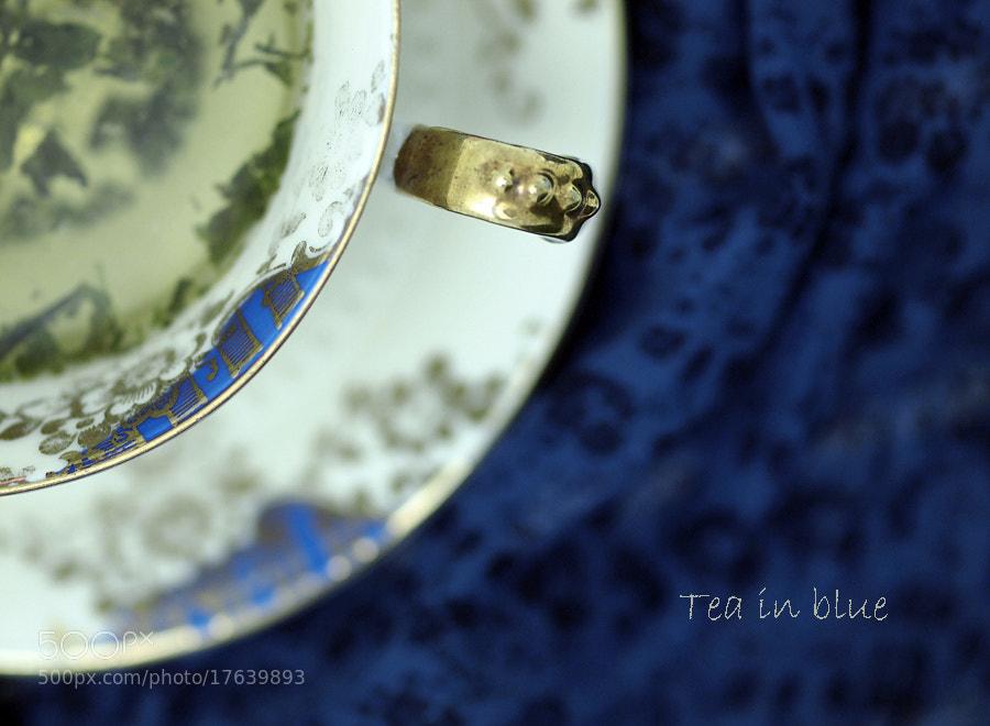 Photograph Tea in Blue 1 by Jasmina Gorjanski on 500px