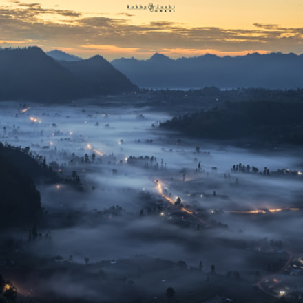 Beautiful Misty Pinggan | Bali