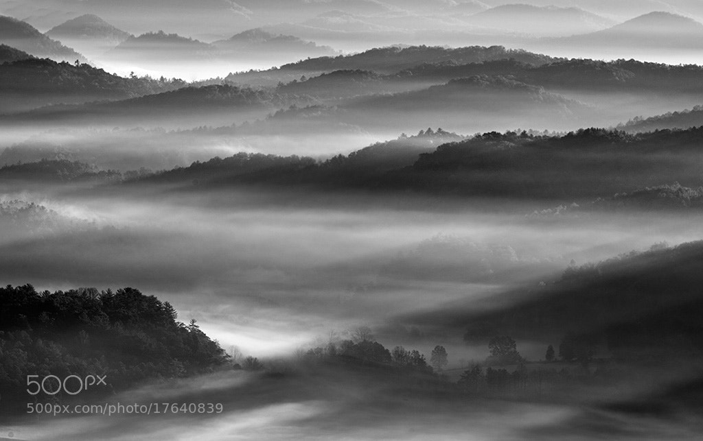Photograph Foothills Fog by John Barclay on 500px