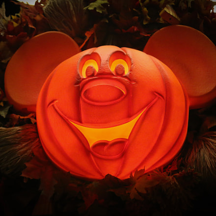 Mickey Mouse Halloween Light, Canon EOS 70D, Canon EF 28-135mm f/3.5-5.6 IS