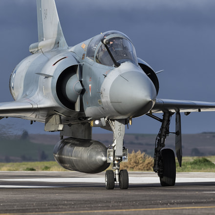 Mirage 2000-5, Canon EOS 7D MARK II, Canon EF 300mm f/2.8L IS