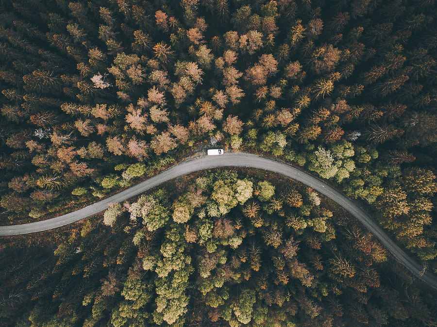 Autumn roads by Tobias Hägg on 500px.com