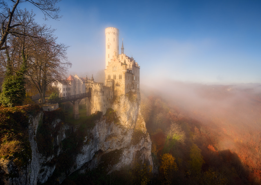 Misty Autumn Castle by Daniel F. on 500px.com