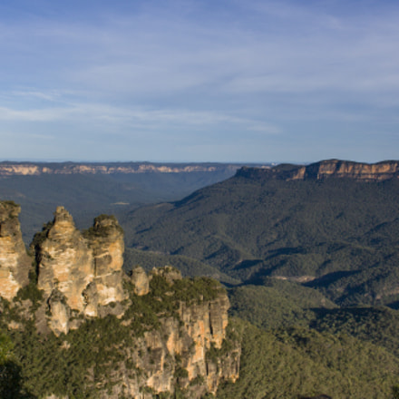 Three Sisters in the, Canon EOS KISS DIGITAL X, Canon EF-S 18-55mm f/3.5-5.6 USM