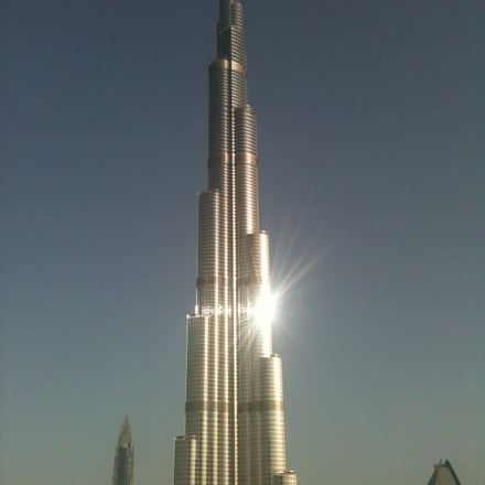 Burj Khalifa, Dubaï, Apple iPhone 3GS