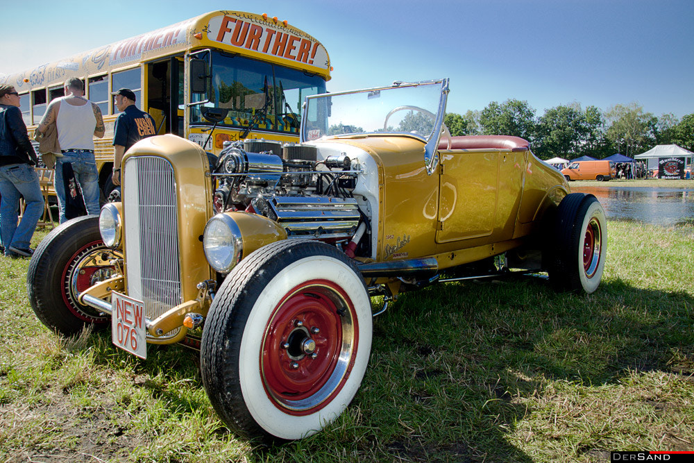 Photograph Hot Rod by Der Sand on 500px