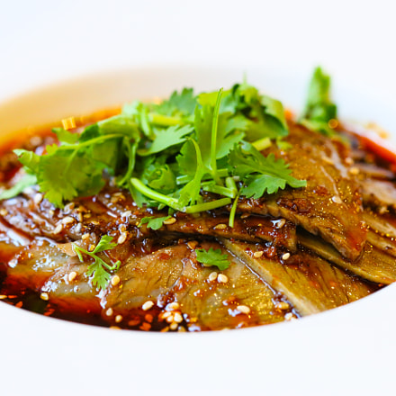 Asian beef food, Canon EOS 6D, Canon EF 100mm f/2.8 Macro USM
