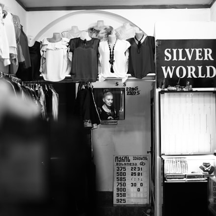 Silver World, Canon EOS 5D MARK II, Canon EF 50mm f/1.2L