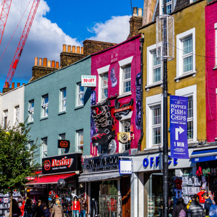 Colours in Camden, Sony SLT-A58, Sony DT 18-55mm F3.5-5.6 SAM II (SAL18552)