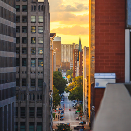 STL Sunset, Canon EOS 6D, Canon EF 70-200mm f/4L IS
