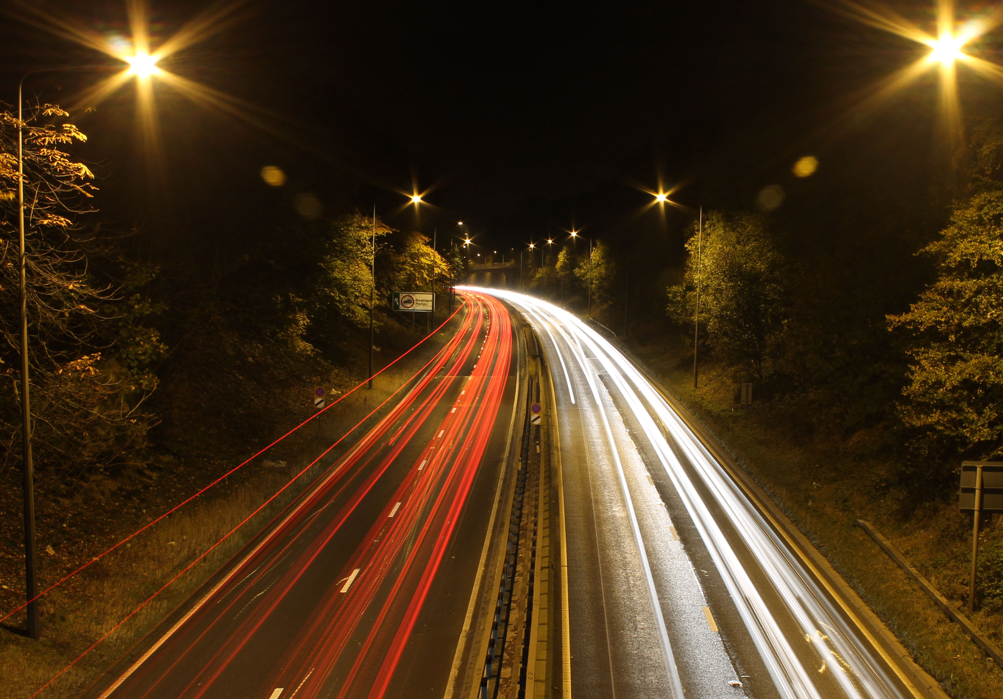 Photograph Night Traffic by Mark Brindle on 500px