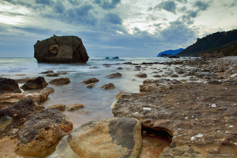Photograph Rocky Beach by Andreas Politis on 500px
